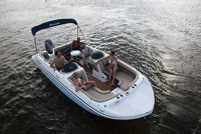 Image 2 for 2019 Hurricane 218 SunDeck Sport OB in West Palm Beach, FL