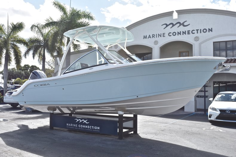 Thumbnail 1 for New 2019 Cobia 240 Dual Console boat for sale in Vero Beach, FL