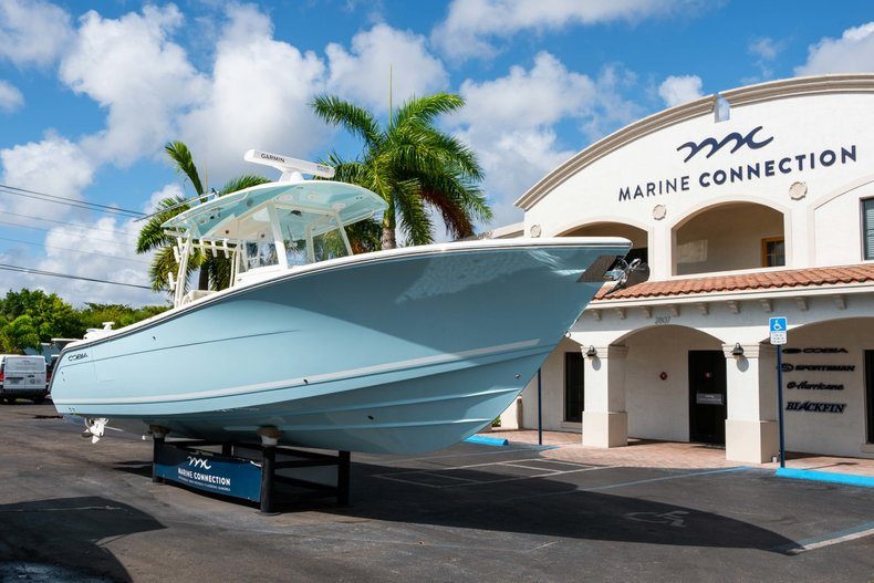 Thumbnail 1 for New 2019 Cobia 320 Center Console boat for sale in West Palm Beach, FL