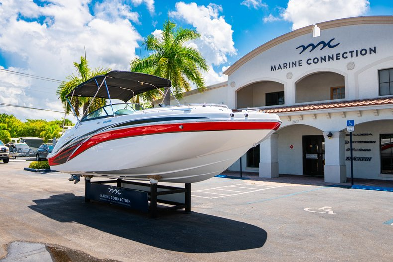Thumbnail 1 for New 2019 Hurricane SunDeck SD 2486 OB boat for sale in West Palm Beach, FL