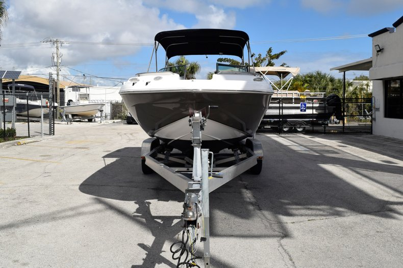 Thumbnail 2 for Used 2017 Hurricane SunDeck SD 2200 OB boat for sale in Fort Lauderdale, FL