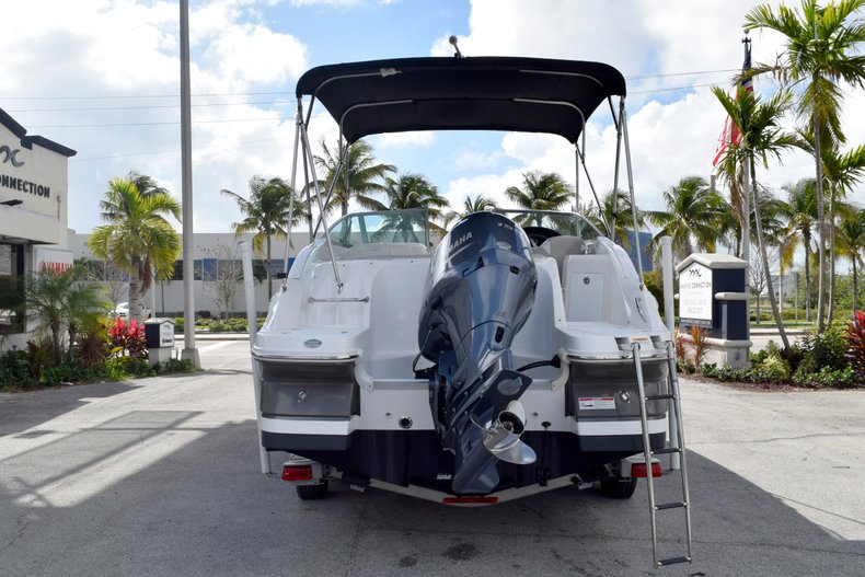 Thumbnail 6 for Used 2017 Hurricane SunDeck SD 2200 OB boat for sale in Fort Lauderdale, FL