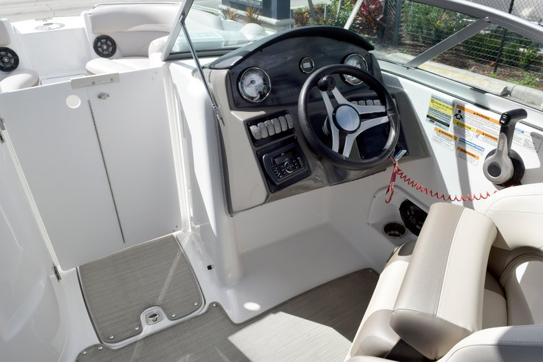 Thumbnail 29 for Used 2017 Hurricane SunDeck SD 2200 OB boat for sale in Fort Lauderdale, FL