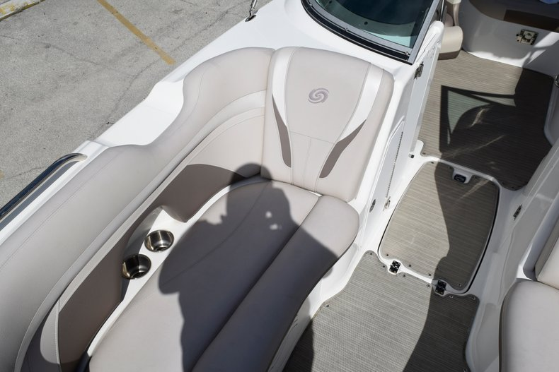 Thumbnail 48 for Used 2017 Hurricane SunDeck SD 2200 OB boat for sale in Fort Lauderdale, FL