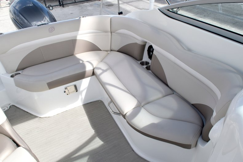 Thumbnail 21 for Used 2017 Hurricane SunDeck SD 2200 OB boat for sale in Fort Lauderdale, FL
