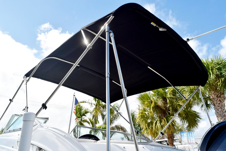 Thumbnail 9 for Used 2017 Hurricane SunDeck SD 2200 OB boat for sale in Fort Lauderdale, FL