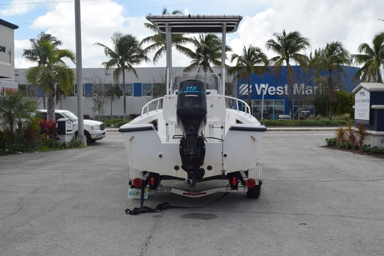Thumbnail 8 for Used 2001 Mako 171 Center Console boat for sale in Vero Beach, FL