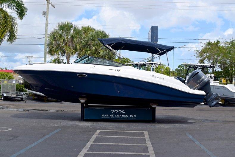 Thumbnail 4 for New 2019 Hurricane SunDeck SD 2690 OB boat for sale in Vero Beach, FL