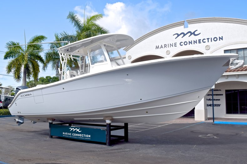 Thumbnail 1 for  2019 Cobia 301 CC Center Console boat for sale in West Palm Beach, FL