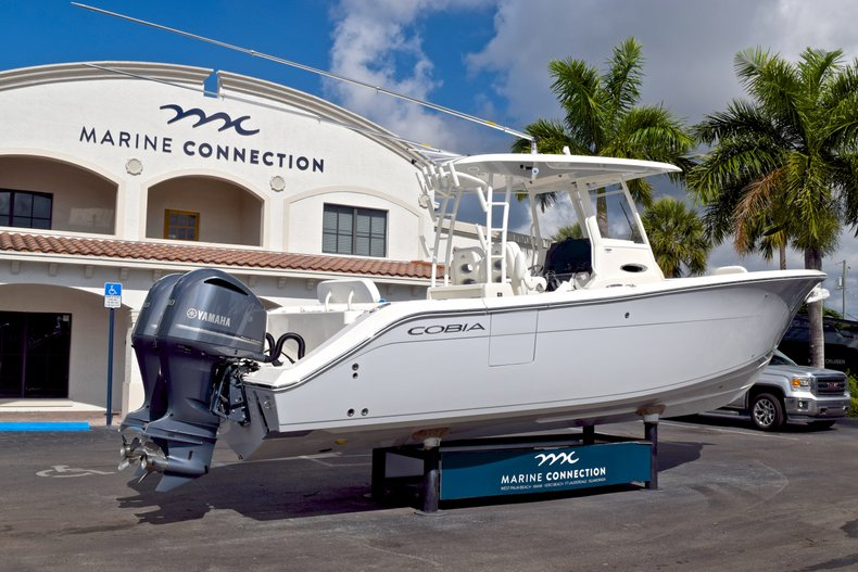 Thumbnail 8 for  2019 Cobia 301 CC Center Console boat for sale in West Palm Beach, FL