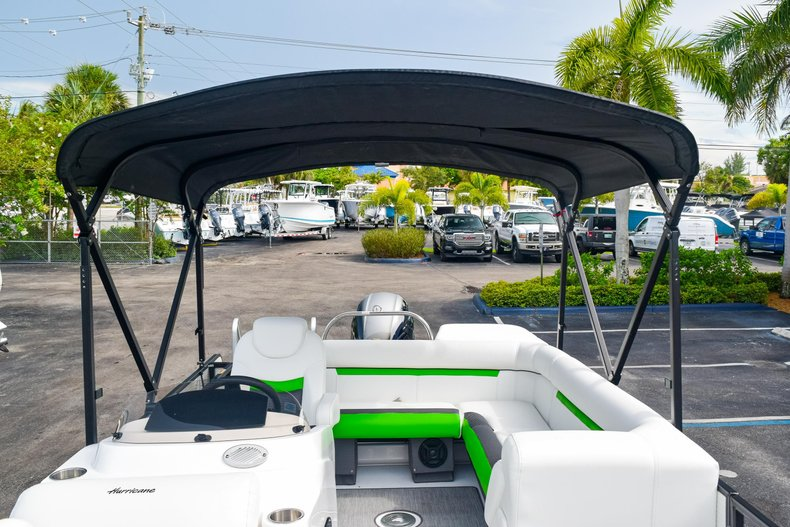Thumbnail 39 for New 2019 Hurricane FunDeck FD 226 OB boat for sale in West Palm Beach, FL