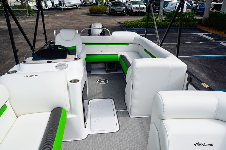 Thumbnail 38 for New 2019 Hurricane FunDeck FD 226 OB boat for sale in West Palm Beach, FL