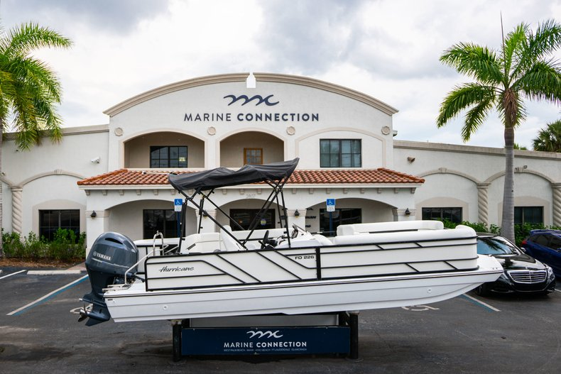 New 2019 Hurricane FunDeck FD 226 OB boat for sale in Vero Beach, FL