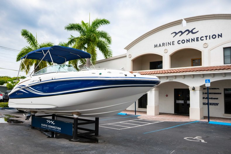 Thumbnail 1 for Used 2012 Hurricane SunDeck 2400 boat for sale in West Palm Beach, FL