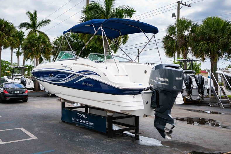 Thumbnail 5 for Used 2012 Hurricane SunDeck 2400 boat for sale in West Palm Beach, FL