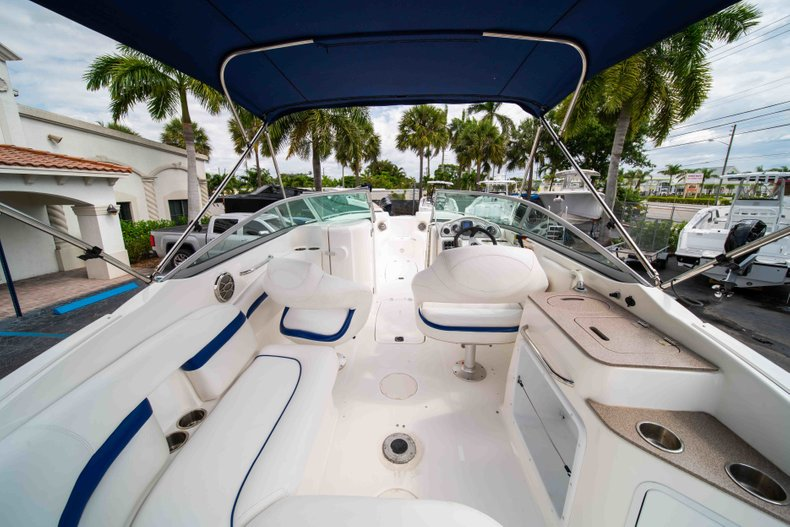 Thumbnail 9 for Used 2012 Hurricane SunDeck 2400 boat for sale in West Palm Beach, FL