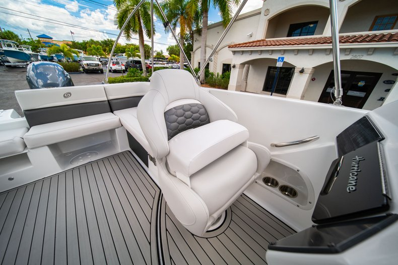 Thumbnail 22 for New 2020 Hurricane 218 SunDeck Sport OB boat for sale in West Palm Beach, FL