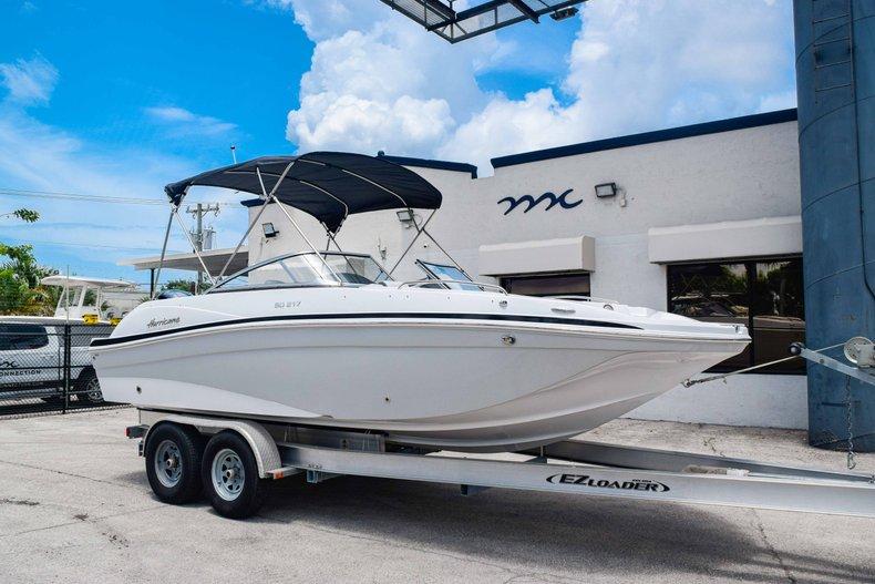 Thumbnail 1 for New 2020 Hurricane 217 SunDeck OB boat for sale in Fort Lauderdale, FL