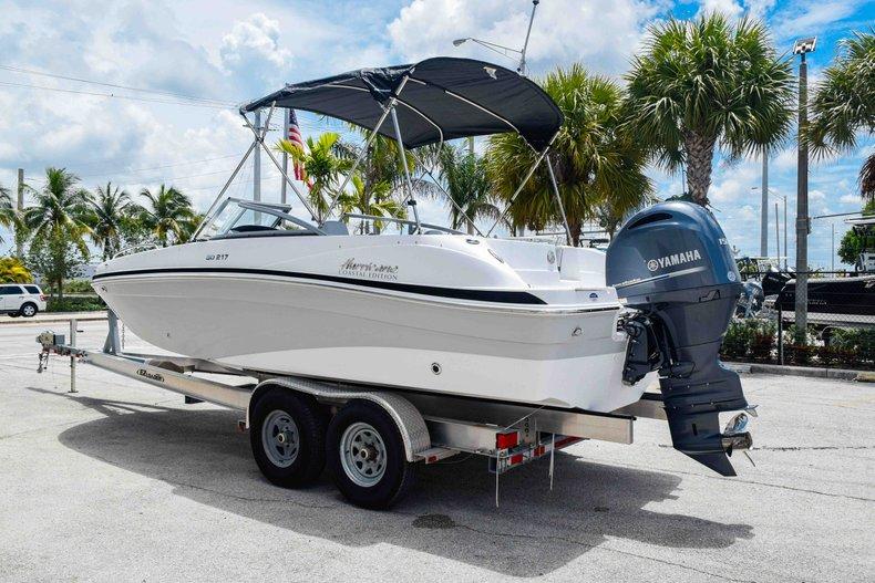 Thumbnail 5 for New 2020 Hurricane 217 SunDeck OB boat for sale in Fort Lauderdale, FL