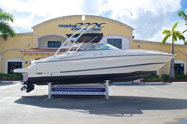 Used 2007 Monterey 268 SS Super Sport Bowrider Boat For Sale In West Palm Beach