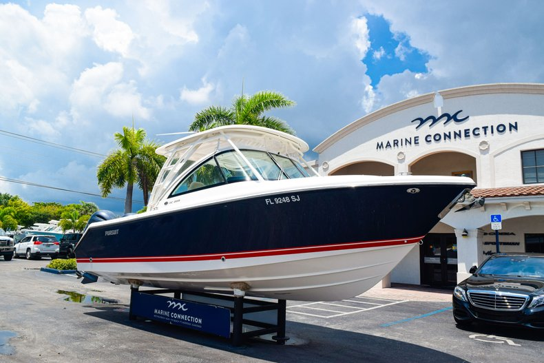 Thumbnail 1 for Used 2016 Pursuit DC 265 Dual Console boat for sale in West Palm Beach, FL