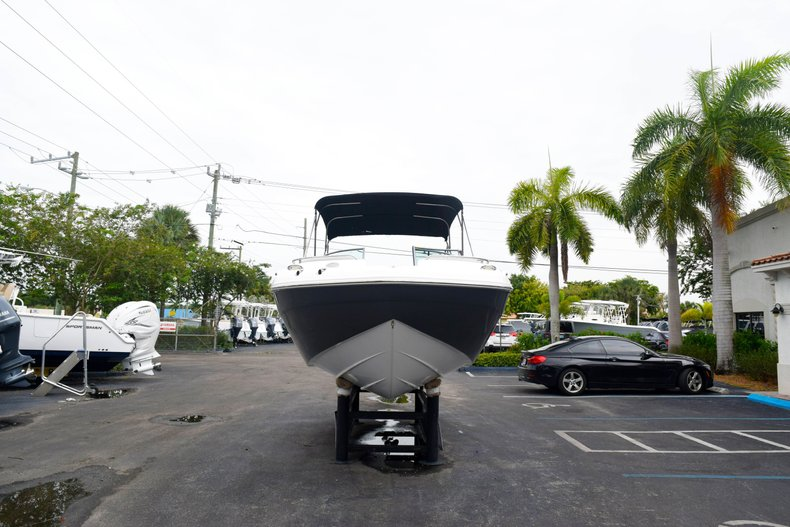 Thumbnail 2 for Used 2018 Hurricane SunDeck SD 2200 OB boat for sale in West Palm Beach, FL