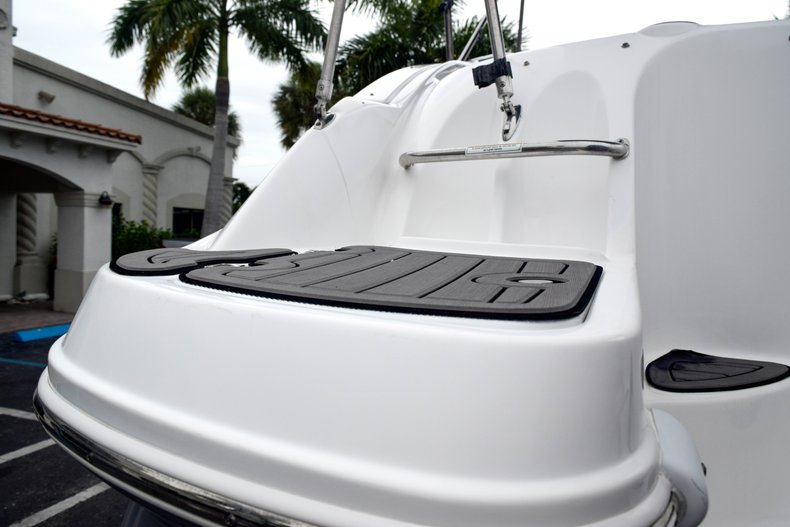 Thumbnail 11 for Used 2018 Hurricane SunDeck SD 2200 OB boat for sale in West Palm Beach, FL