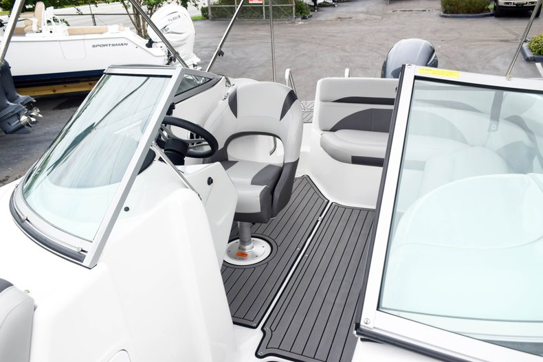 Thumbnail 63 for Used 2018 Hurricane SunDeck SD 2200 OB boat for sale in West Palm Beach, FL