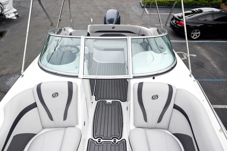 Thumbnail 66 for Used 2018 Hurricane SunDeck SD 2200 OB boat for sale in West Palm Beach, FL