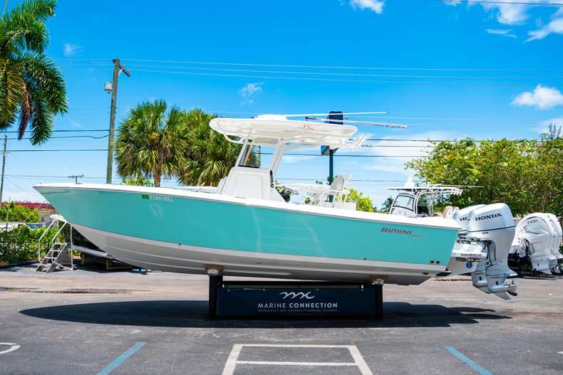 Thumbnail 4 for Used 2017 Bimini 269 Center Console boat for sale in West Palm Beach, FL