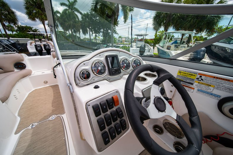 Thumbnail 21 for Used 2013 Hurricane SunDeck SD 2200 OB boat for sale in West Palm Beach, FL