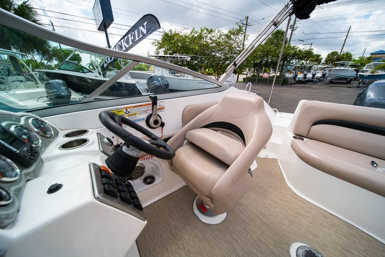 Thumbnail 23 for Used 2013 Hurricane SunDeck SD 2200 OB boat for sale in West Palm Beach, FL