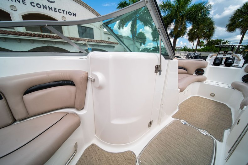 Thumbnail 24 for Used 2013 Hurricane SunDeck SD 2200 OB boat for sale in West Palm Beach, FL