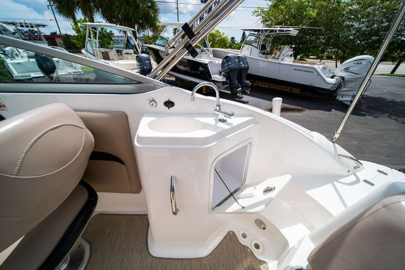 Thumbnail 17 for Used 2013 Hurricane SunDeck SD 2200 OB boat for sale in West Palm Beach, FL