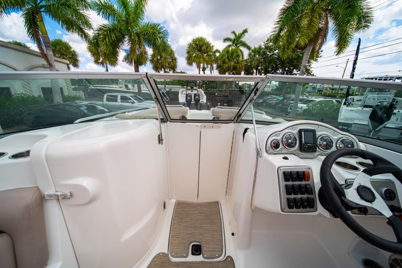 Thumbnail 27 for Used 2013 Hurricane SunDeck SD 2200 OB boat for sale in West Palm Beach, FL