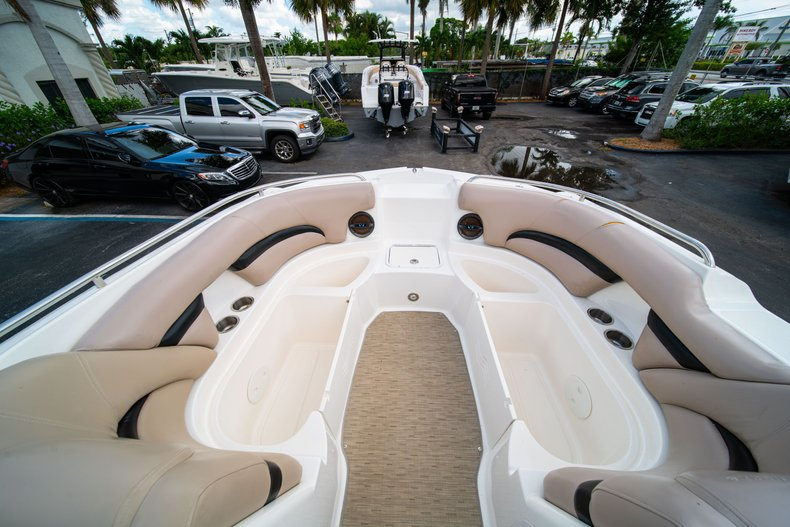 Thumbnail 33 for Used 2013 Hurricane SunDeck SD 2200 OB boat for sale in West Palm Beach, FL