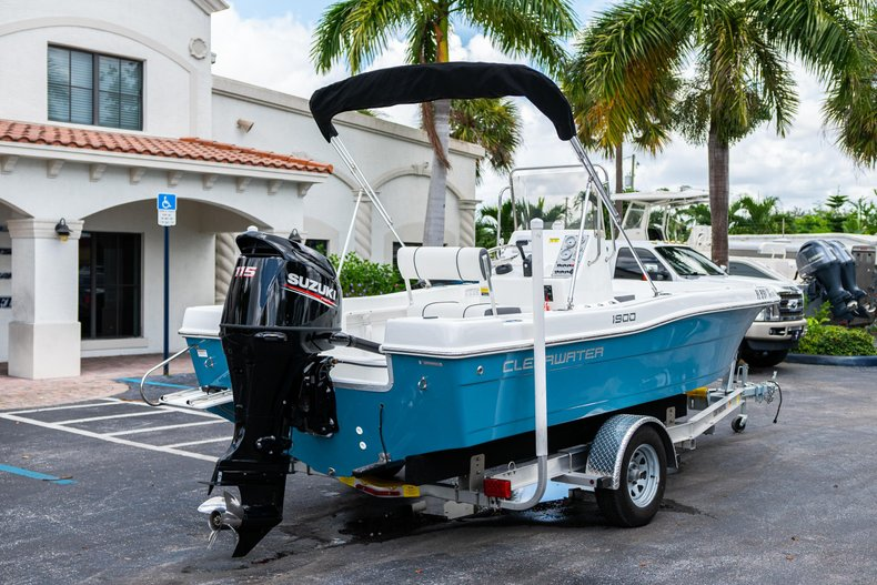 Thumbnail 7 for Used 2019 Clearwater 1900 CC boat for sale in West Palm Beach, FL