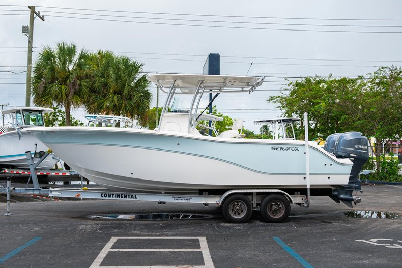 Thumbnail 4 for Used 2013 Sea Fox 256 Center Console boat for sale in West Palm Beach, FL