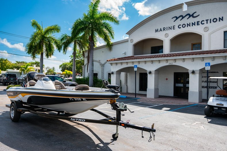 Thumbnail 1 for Used 2007 NITRO 482 Bass Boat boat for sale in West Palm Beach, FL