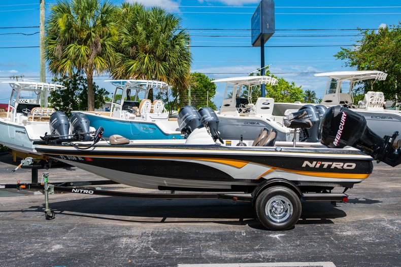 Thumbnail 4 for Used 2007 NITRO 482 Bass Boat boat for sale in West Palm Beach, FL