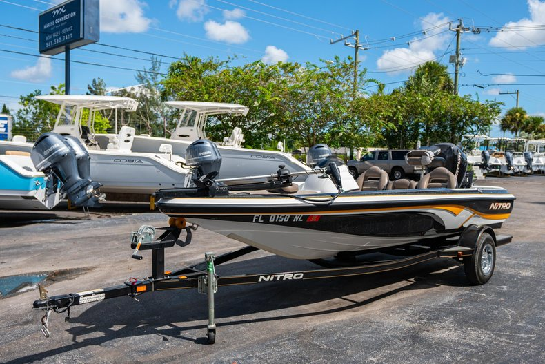 Thumbnail 3 for Used 2007 NITRO 482 Bass Boat boat for sale in West Palm Beach, FL