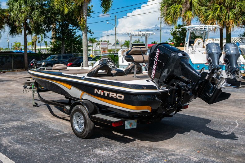 Thumbnail 5 for Used 2007 NITRO 482 Bass Boat boat for sale in West Palm Beach, FL