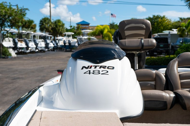 Thumbnail 19 for Used 2007 NITRO 482 Bass Boat boat for sale in West Palm Beach, FL