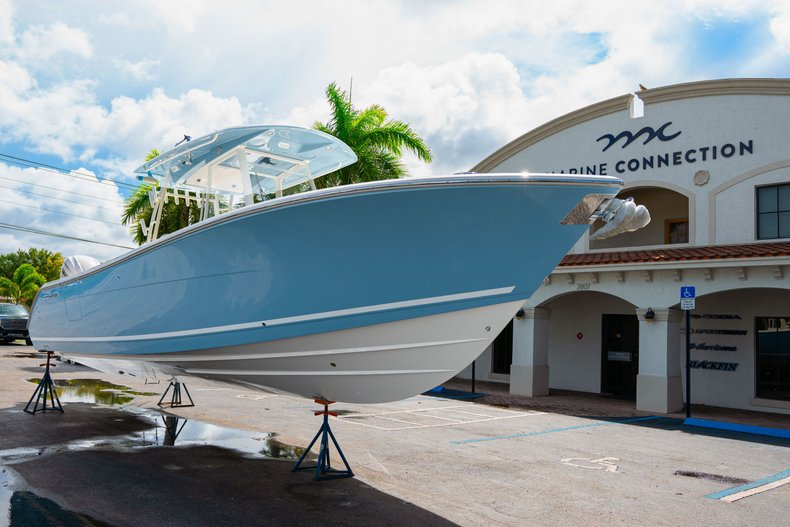 Thumbnail 1 for New 2020 Cobia 320 Center Console boat for sale in West Palm Beach, FL
