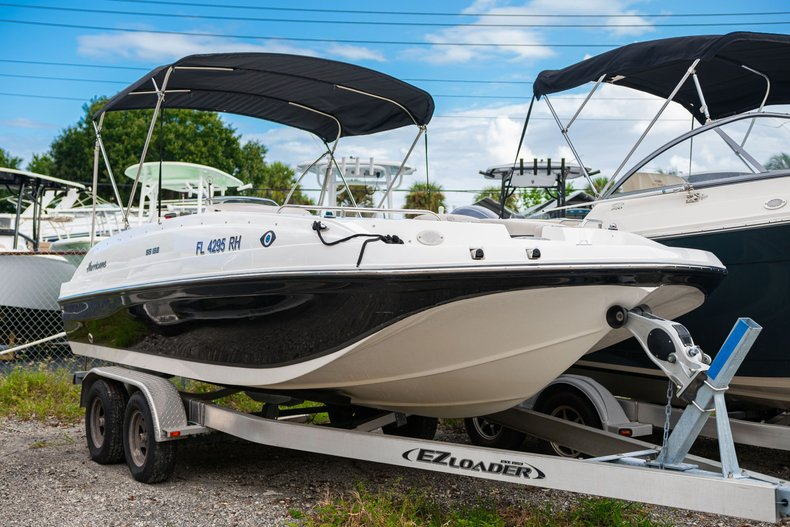 Used 2017 Hurricane SunDeck Sport SS 188 OB boat for sale in West Palm Beach, FL