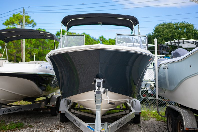 Thumbnail 1 for Used 2018 Cobia 220 Dual Console boat for sale in West Palm Beach, FL