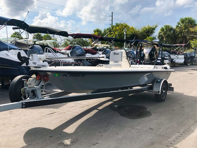 Thumbnail 1 for Used 2019 Maverick Boat Co. 18 HPX-V boat for sale in West Palm Beach, FL