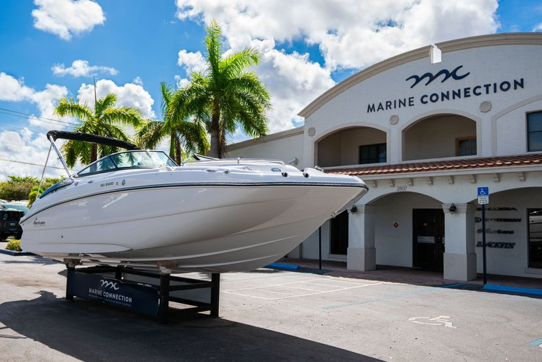 Thumbnail 1 for New 2020 Hurricane SunDeck SD 2400 OB boat for sale in West Palm Beach, FL