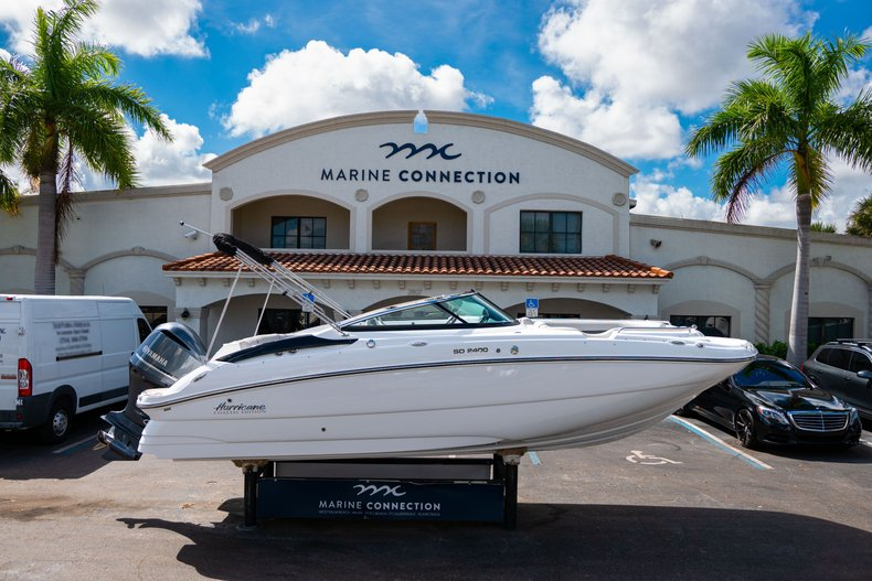 New 2020 Hurricane SunDeck SD 2400 OB boat for sale in West Palm Beach, FL