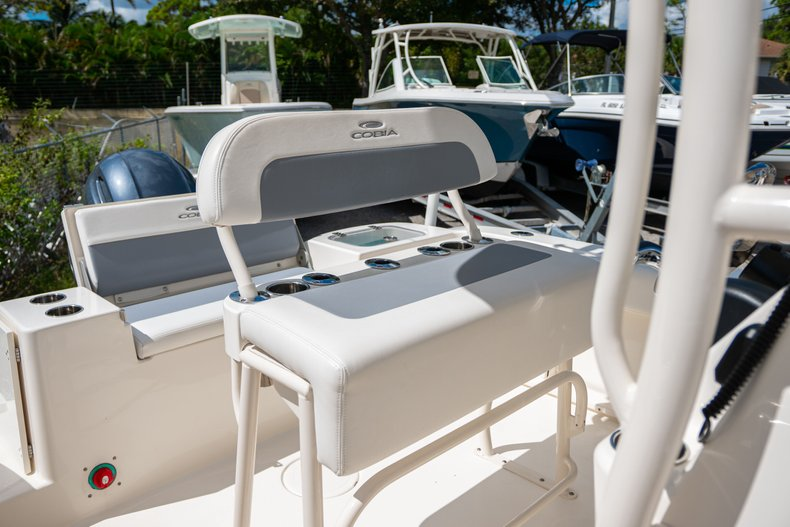 Thumbnail 16 for Used 2018 Cobia 201 Center Console boat for sale in West Palm Beach, FL